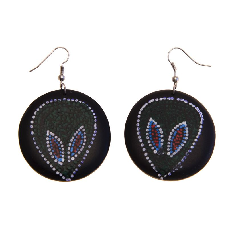 Earrings Martians