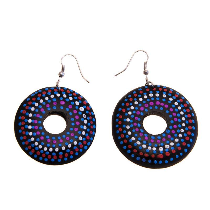 Earrings Turquoise Orb