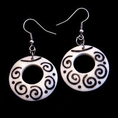 Earrings Cycle of Spirals