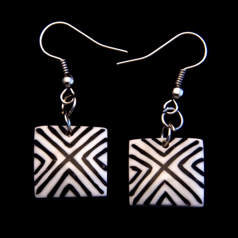 Earrings Diagonals Indonesia