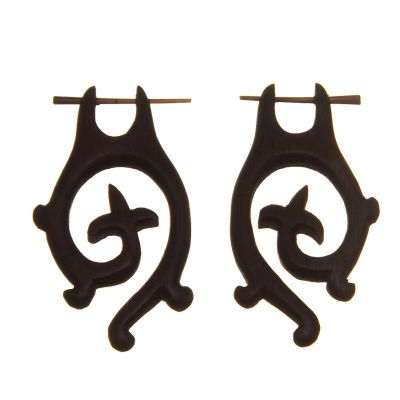 Earrings Knight Spiral