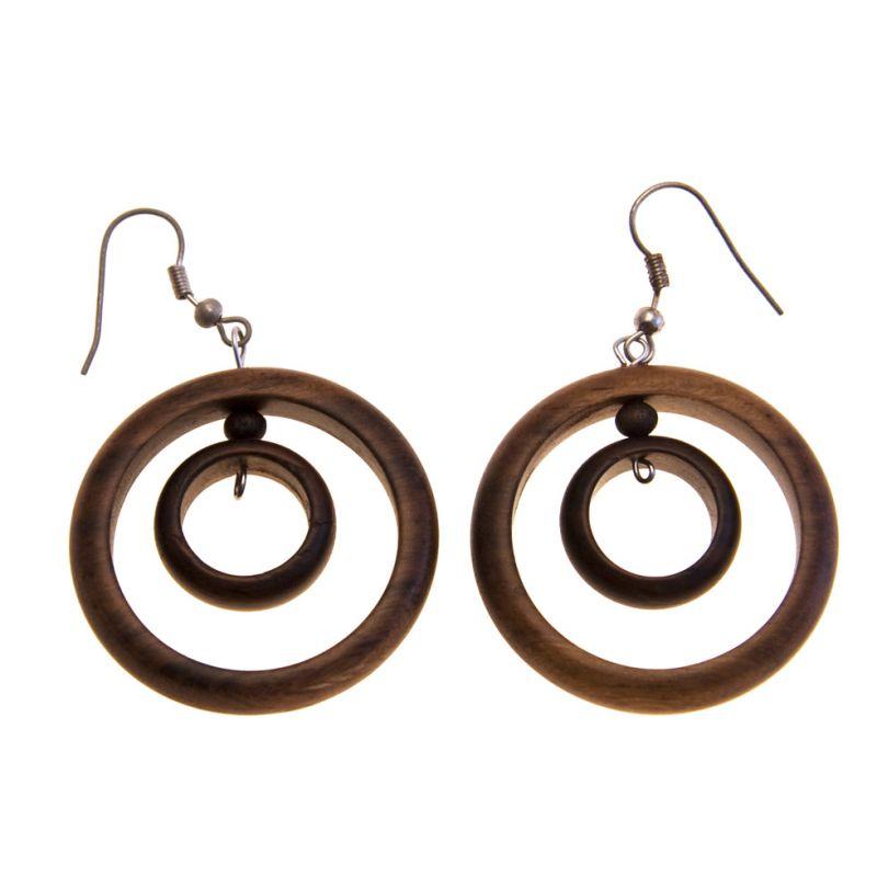 Earrings Two Circles