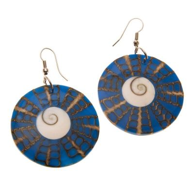Earrings Turquoise Aura