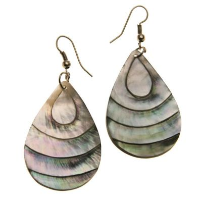 Earrings Tear of the Sea