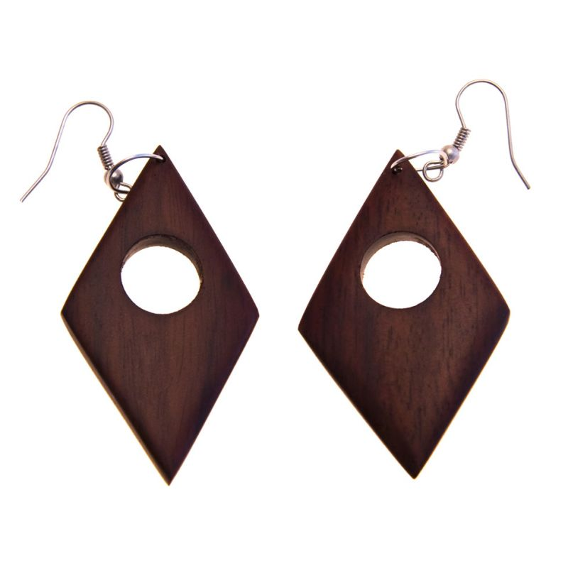 Earrings Rhombus Permit