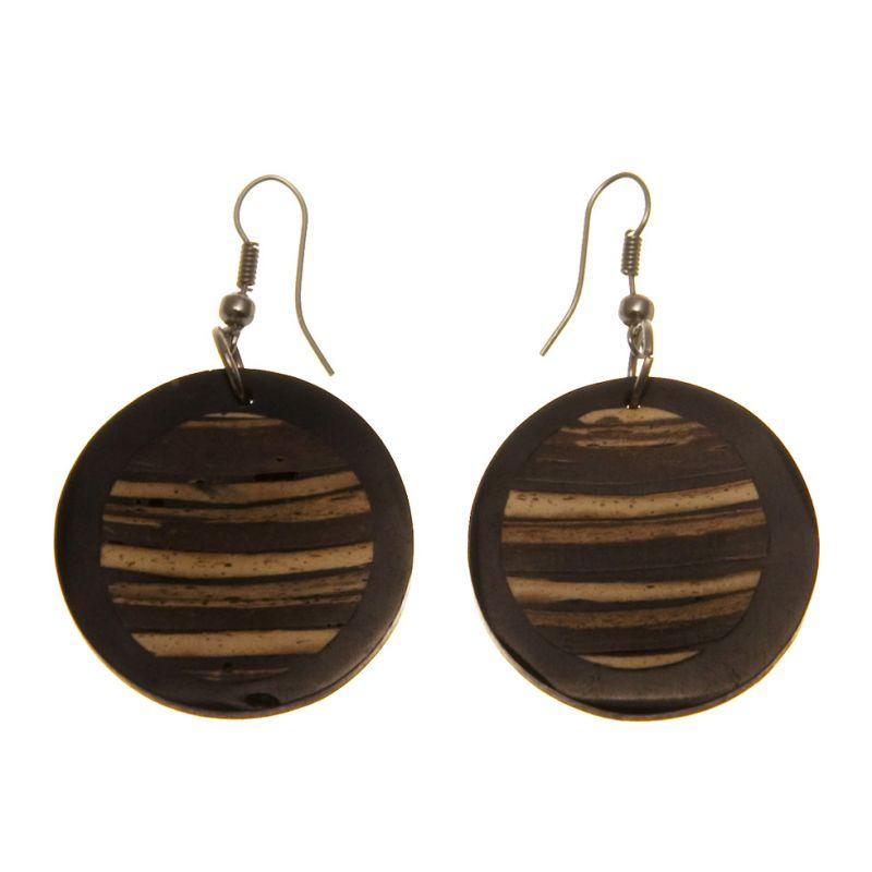 Earrings Shades of Brown