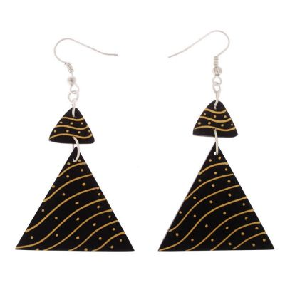Earrings Desert in Triangles