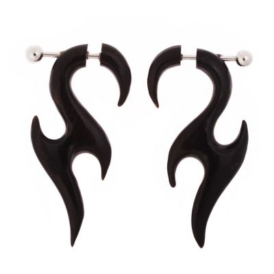 Inset earrings Tomahowk of Seduction