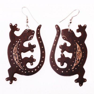Earrings Geckos On Lust