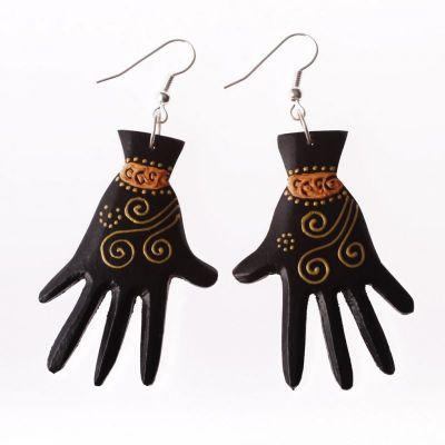 Earrings Hands