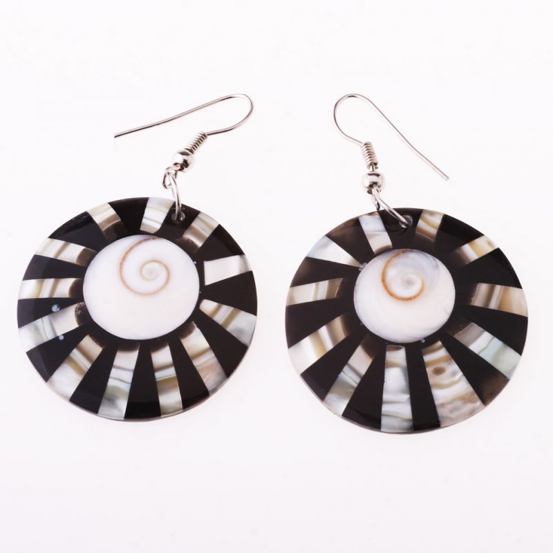 Shell earrings Day Seduced by Night