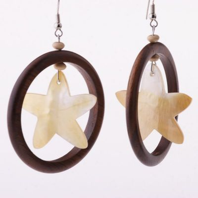 Earrings Glitter of a Star