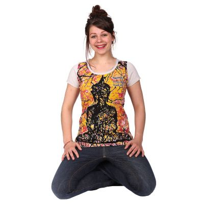 Women's t-shirt Buddha Beige