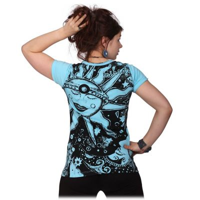 Women's t-shirt with short sleeves Mirror Sun&Moon