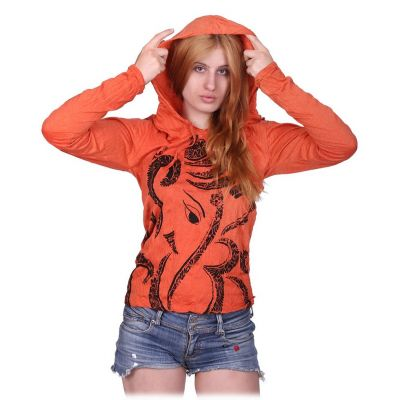Women's t-shirt Elephant Orange