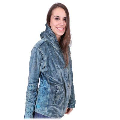 Velvet jacket Tanuja Blue