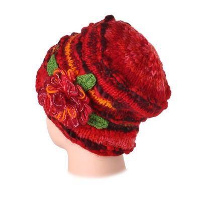 Woollen hat Indah Mawar