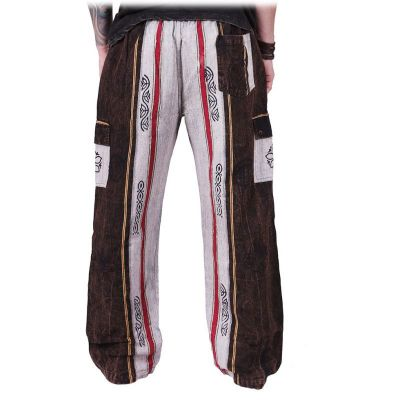 Men's ethnic trousers Gambar Grey Nepal