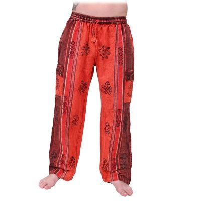 Men's ethnic trousers Gambar Red Nepal