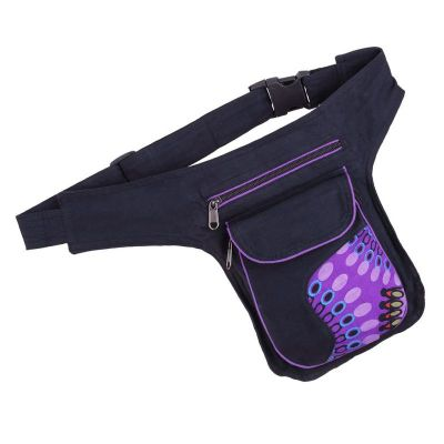 Money belt Japa Purple