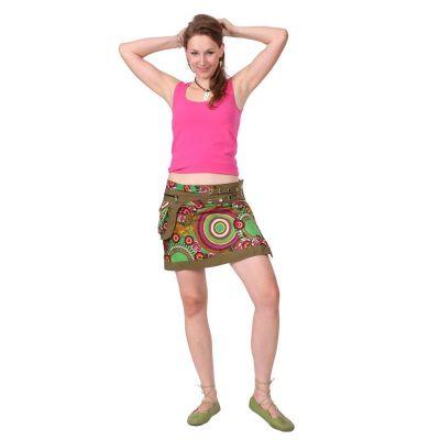 Skirt Tiang Hijau