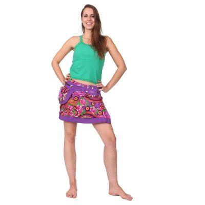 Skirt Tiang Ungu
