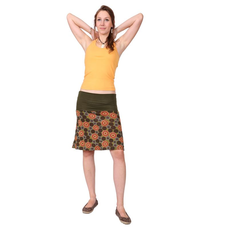 Middle-sized skirt Ibu Hutan