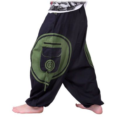 Trousers Bersulur Hijau