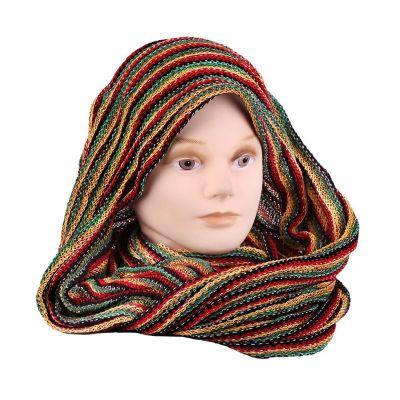 Infinity scarf Rasta