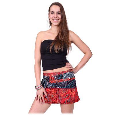 Skirt Tiang Merah