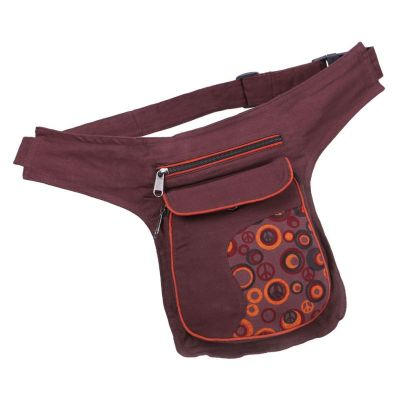 Money belt Peace Brown
