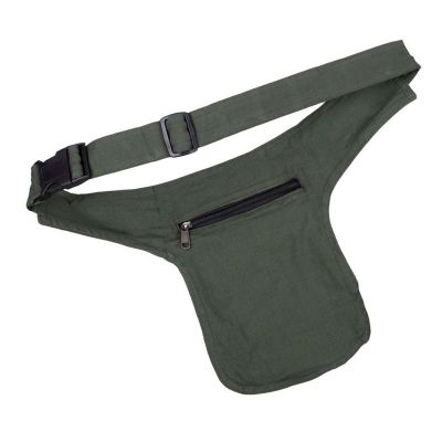 Money belt Peace Green