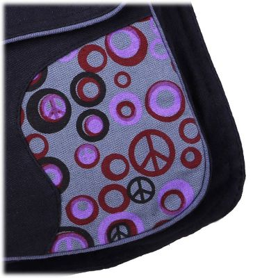 Money belt Peace Grey