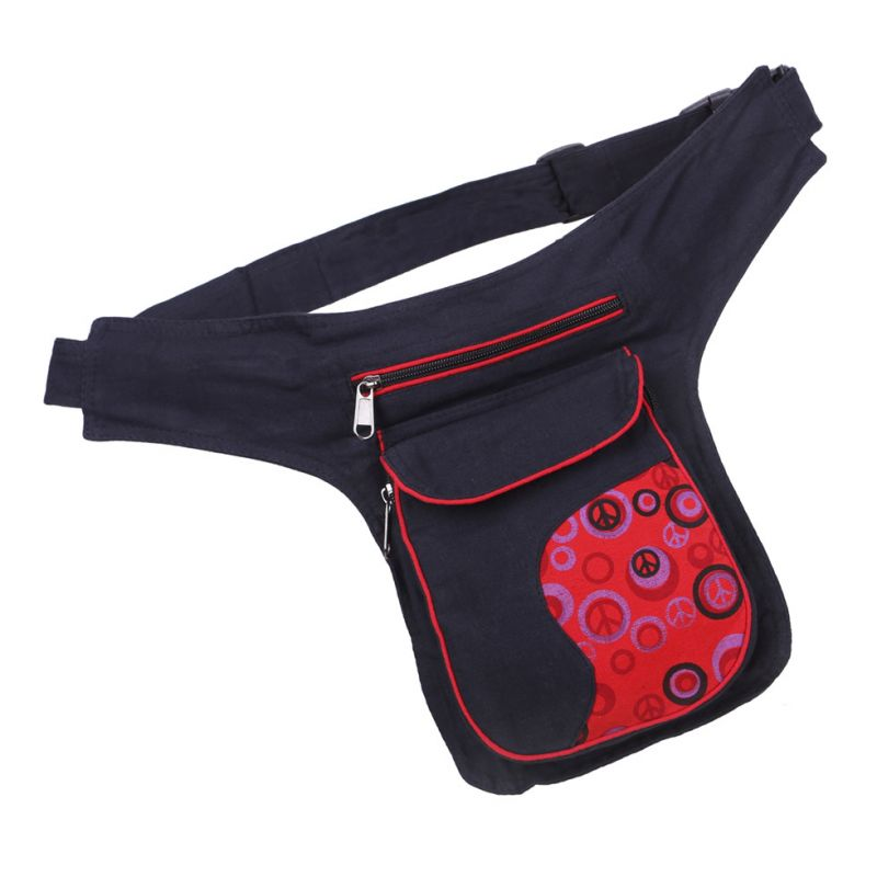 Money belt Peace Red