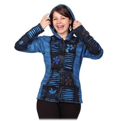 Jacket Merajut Pirus