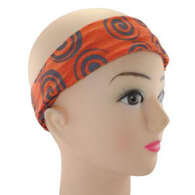 Headband Gulung Jeruk