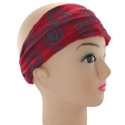 Headband Gulung Merah