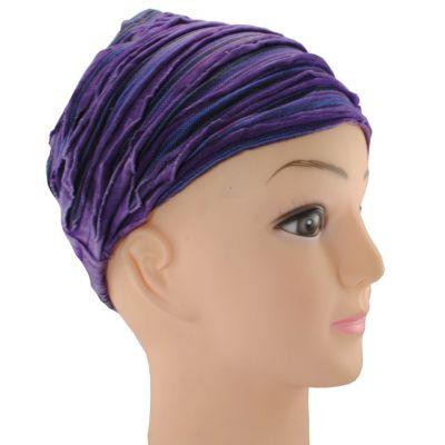 Headband Jalan Ungu