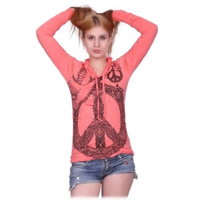 Women's t-shirt Dove of Peace Pink