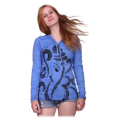 Women's t-shirt Elephant Blue