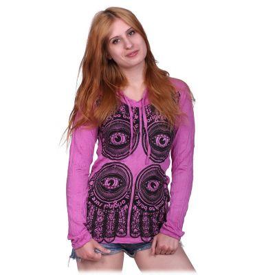 Women's t-shirt Hamsa Pink