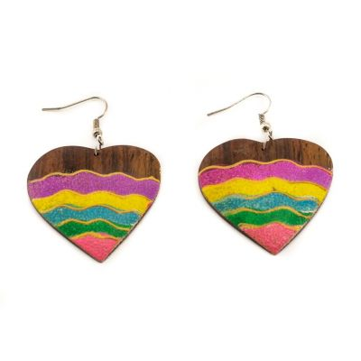 Earrings Energetic love