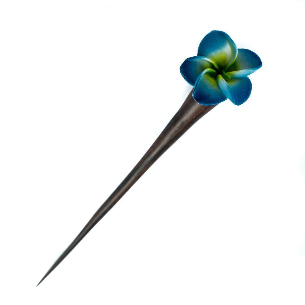 Hairpin Little blue flower