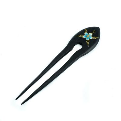 Hairpin Turquoise Flower
