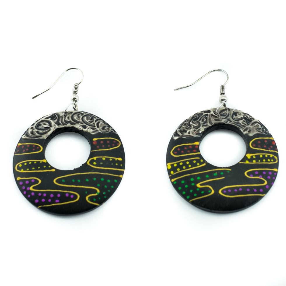native oscardo colourful products salmon earrings nw cv