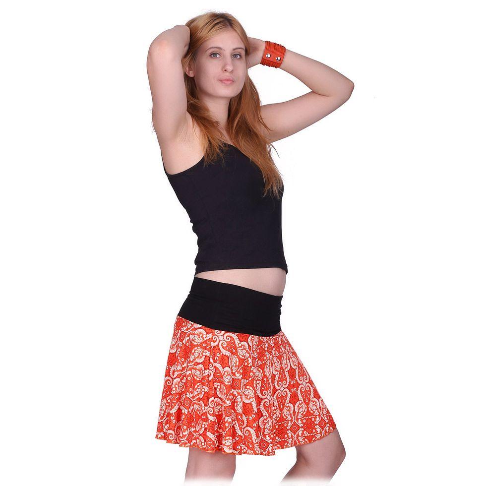 Round mini skirt Lutut Chariya Thailand