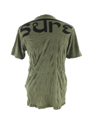 Men's t-shirt Sure Angry Ganesh Green