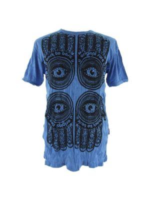 T-shirt Hamsa Blue