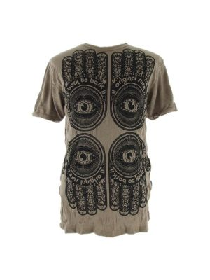 T-shirt Hamsa Brown