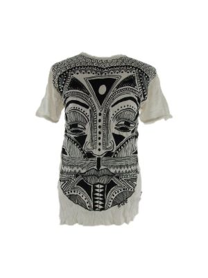 T-shirt Khon Mask White